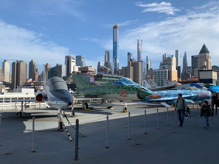 Музей моря, воздуха и космоса «Интрепид» вНью-Йорке