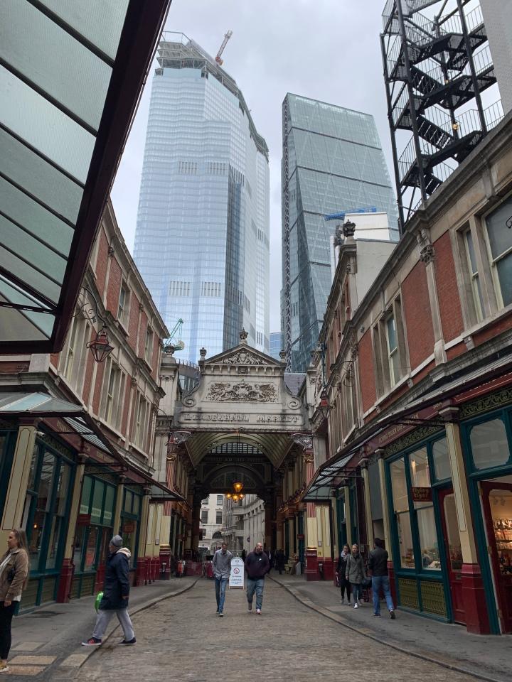 Многоликий Лондон — в стиле «фьюжн» (частьпервая)